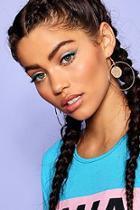 Boohoo Coin And Hoop Earrings