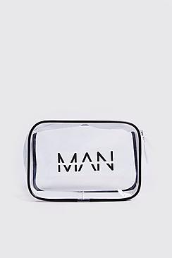 Boohoo Man Cosmetics Bag