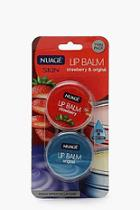 Boohoo 2 Pack Lip Balm - Original & Strawberry