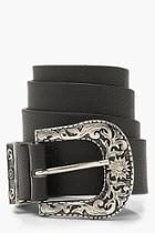Boohoo Chunky Western Boyfriend Belt
