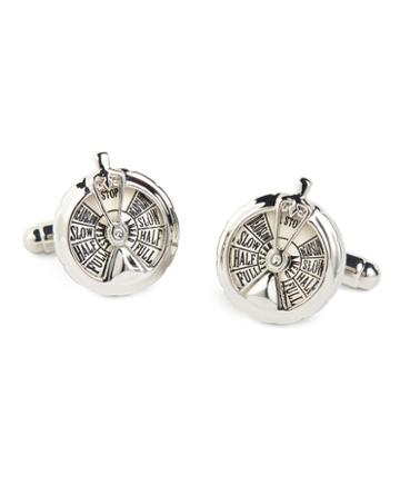 Brooks Brothers Boat Throttle Cuff Links