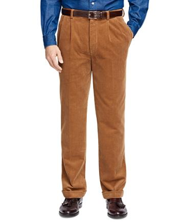 Brooks Brothers Thompson Fit Wide Wale Corduroys