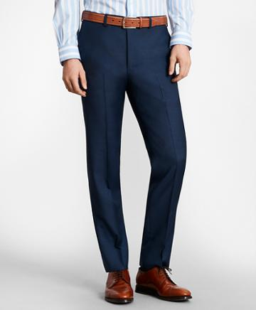 Brooks Brothers Brooksgate Milano-fit Wool Twill Suit Pants