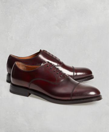 Brooks Brothers Golden Fleece Cordovan Captoes