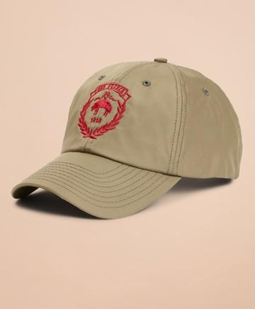 Brooks Brothers Red Fleece Logo Baseball Hat