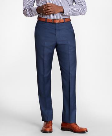 Brooks Brothers Brooksgate Regent-fit Wool Twill Suit Pants