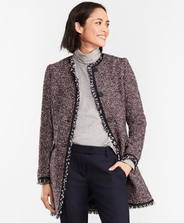 Brooks Brothers Women's Boucle Coat