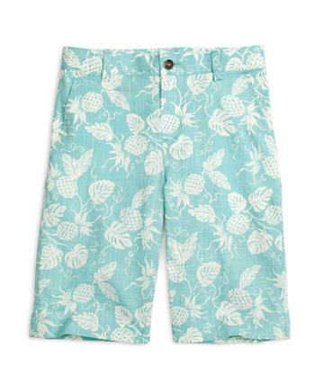 Brooks Brothers Pineapple Print Shorts