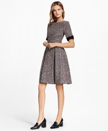 Brooks Brothers Women's Boucle Dress