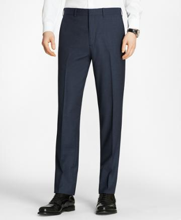 Brooks Brothers Men's Milano Fit Check Trousers