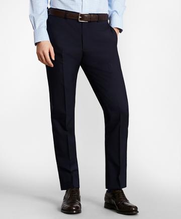 Brooks Brothers Brooksgate Milano-fit Wool Suit Pants