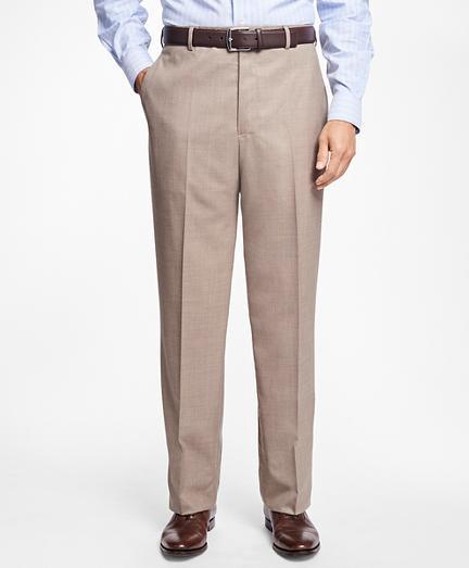 Brooks Brothers Regent Fit Saxxon Wool Trousers