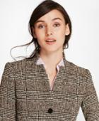 Brooks Brothers Women's Glen Plaid Tweed Jacket