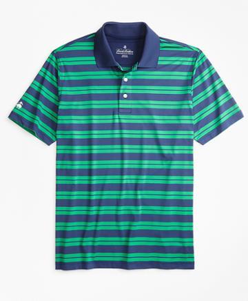 Brooks Brothers Performance Series Track Stripe Polo Shirt