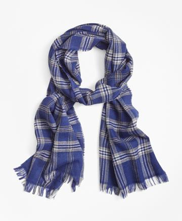 Brooks Brothers Men's Brooks Brothers Signature Tartan Scarf
