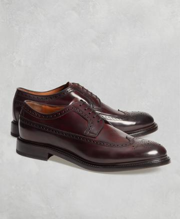 Brooks Brothers Men's Golden Fleece Cordovan Wingtips