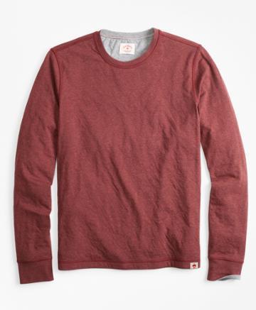 Brooks Brothers Men's Reversible Long-sleeve T-shirt