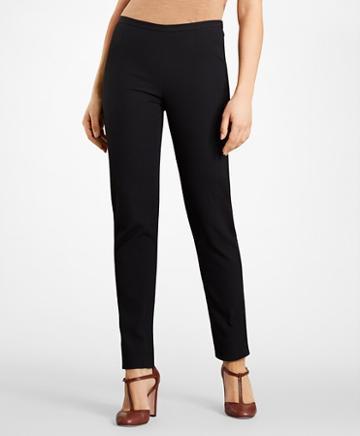 Brooks Brothers Stretch-cotton Jacquard Pants