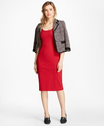 Brooks Brothers Women's Ponte Sheath Dress