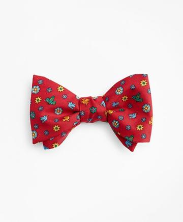 Brooks Brothers Hummingbird Collection For St. Jude-bow Tie