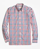 Brooks Brothers Men's Gingham Broadcloth Sport Shirt