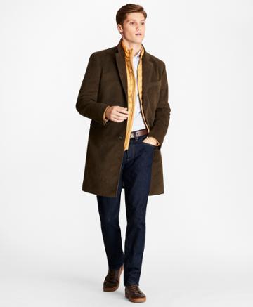 Brooks Brothers Men's Moleskin Topcoat