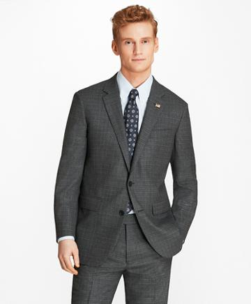 Brooks Brothers Milano Fit Grey 1818 Suit