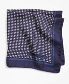 Brooks Brothers Dots Pocket Square