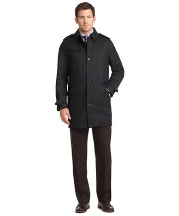 Brooks Brothers Brooksstorm Twill Trench Coat