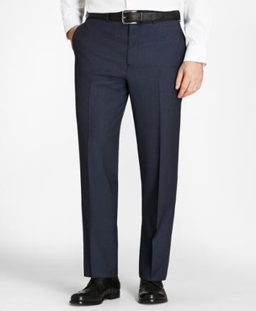 Brooks Brothers Men's Madison Fit Check Trousers