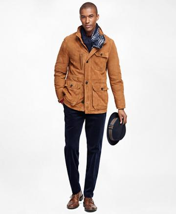 Brooks Brothers Suede Jacket
