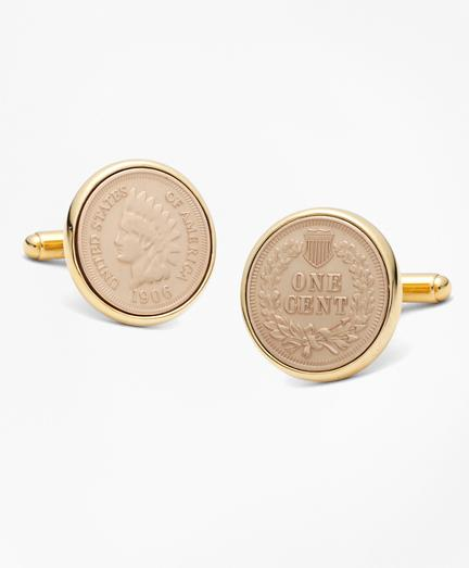 Brooks Brothers Replica Indian Head Penny Cuff Links