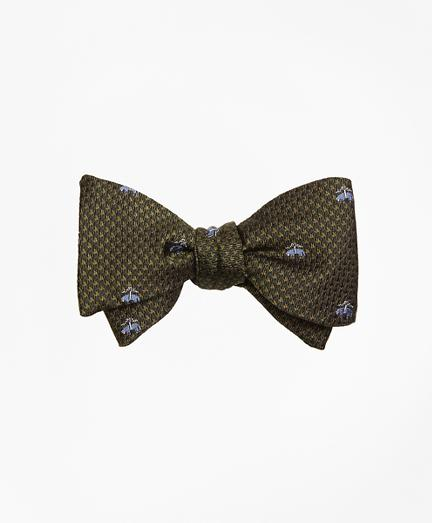 Brooks Brothers Golden Fleece Houndscheck Bow Tie