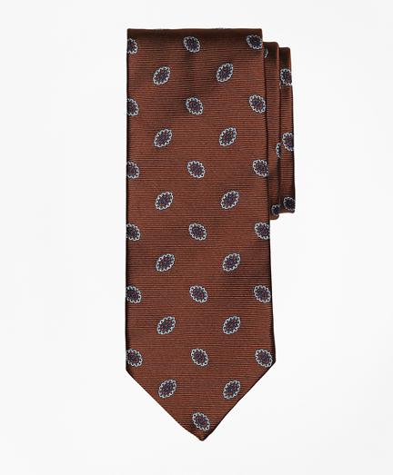 Brooks Brothers Oval Flower Tie