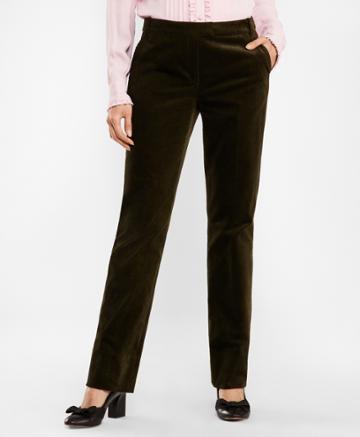 Brooks Brothers Women's Stretch Cotton Corduroy Pants