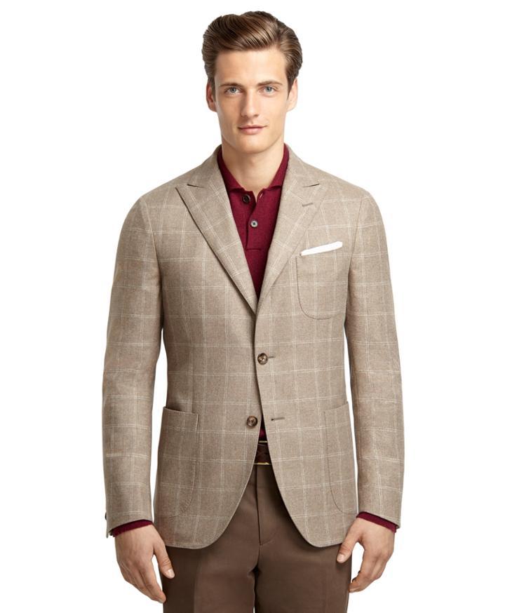 Brooks Brothers Men's Windowpane Jacket