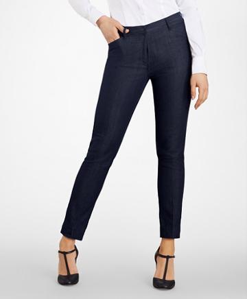 Brooks Brothers Slim-fit Denim Pants