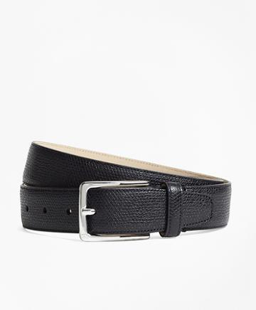 Brooks Brothers 1818 Textured Leather Belt
