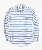 Brooks Brothers Non-iron Regent Fit Mariner Stripe Sport Shirt