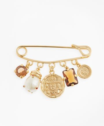 Brooks Brothers Charm Brooch