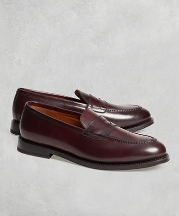 Brooks Brothers Golden Fleece Cordovan Penny Loafers