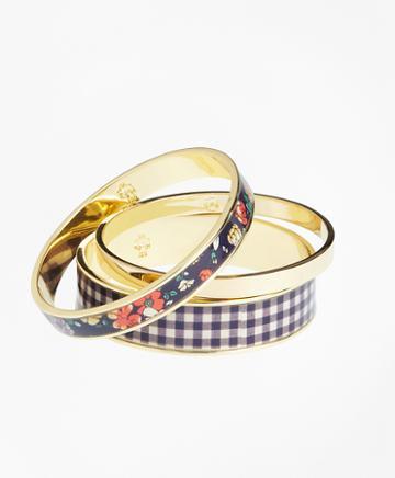 Brooks Brothers Stacked Bangle Bracelets