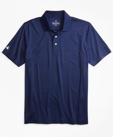 Brooks Brothers Performance Series Paisley Print Polo Shirt