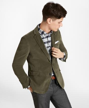 Brooks Brothers Men's Two-button Corduroy Sport Coat