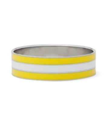 Brooks Brothers Thick Three Stripe Enamel Bracelet