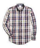 Brooks Brothers Non-iron Regent Fit Large Plaid Sport Shirt