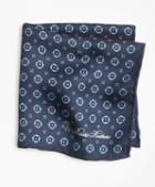 Brooks Brothers Medallion Plaid Pocket Square