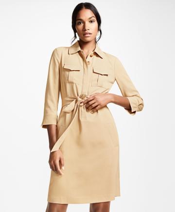 Brooks Brothers Women's Twill Shirt Dress