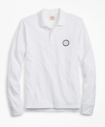 Brooks Brothers Year Of The Pig Long-sleeve Polo