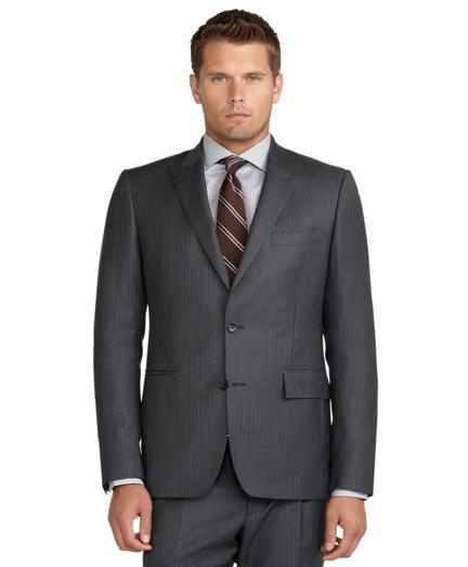 Brooks Brothers Regent Fit Alternating Stripe 1818 Suit